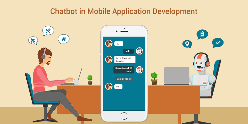 Escalation of Chatbot in Mobile Application Development
