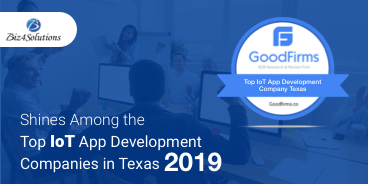 Biz4Solutions Shines Among the Top IoT App Development Companies at GoodFirms