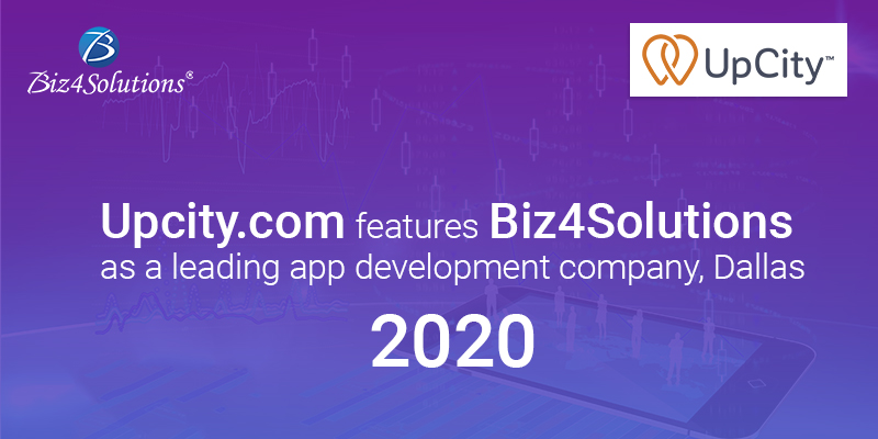 Biz4Solutions shines amongst top 10 app development companies in Dallas on Upcity