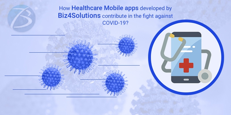 How Biz4Solutions is contributing in the fight against COVID-19 by developing healthcare mobile apps?