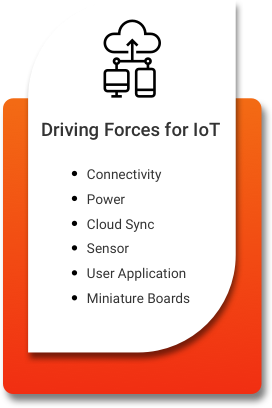 Driving forces for IoT